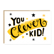Jade Fisher 'You Clever Kid' Card